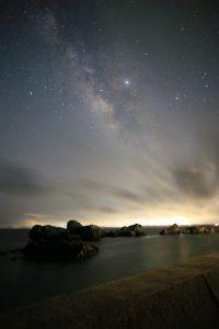 大神島の天の川